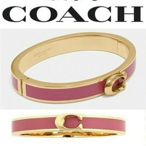 Coach Signature bangle bracelet